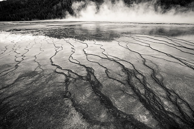 exploring Yellowstone Grand Prismatic Spring
