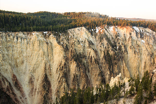 Grand Canyon of the Yellowstone at Sunrise