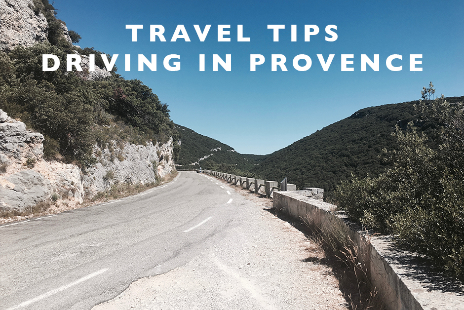 tips for driving in Provence