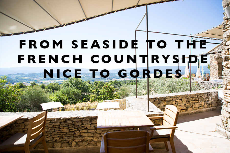 Seaside to the French Countryside