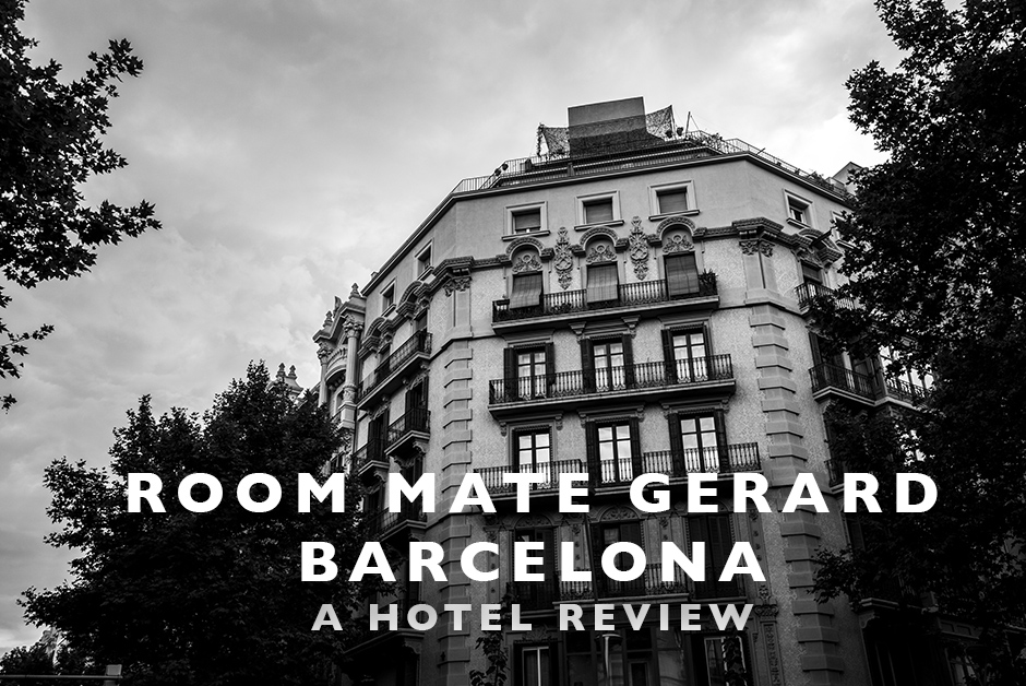 room mate Gerard Barcelona hotel review