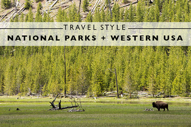travel style for national parks