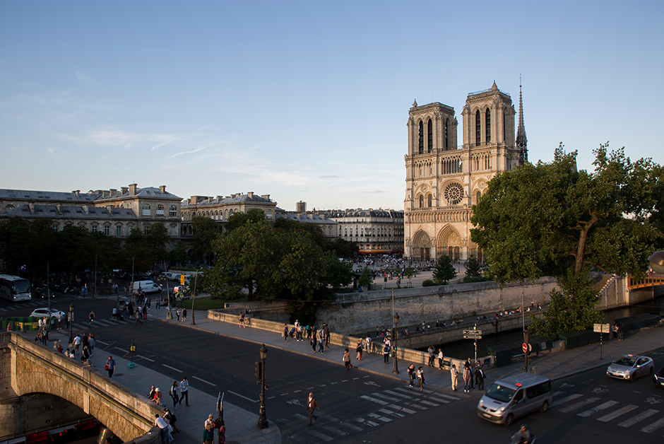 Notre Dame in the Summer