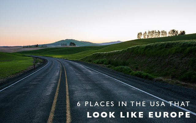 6 Places in the US that Look Like Europe