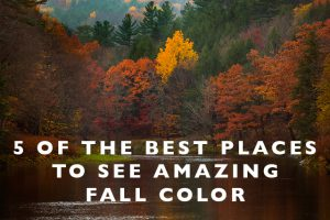 5 of the Best Places to See Amazing Fall Color (and when to go!)