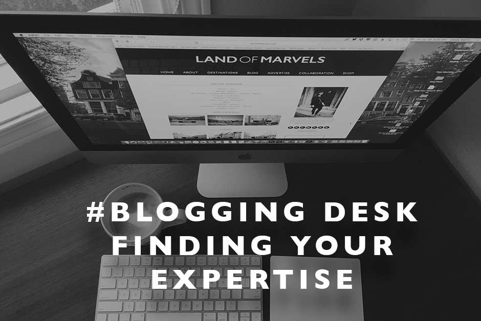 finding your expertise blogging