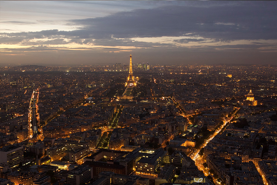 See Paris from above