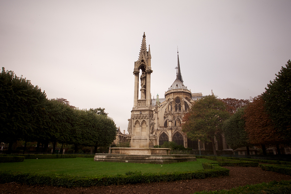 Notre Dame in the Autumn