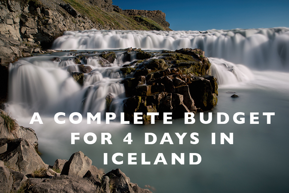 budget for 4 days in Iceland