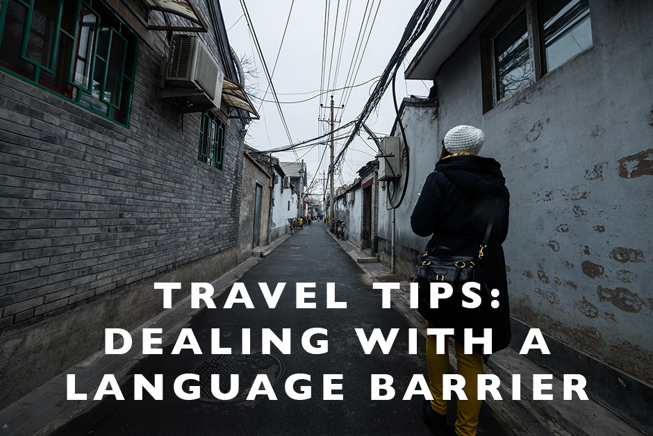 dealing with a language barrier