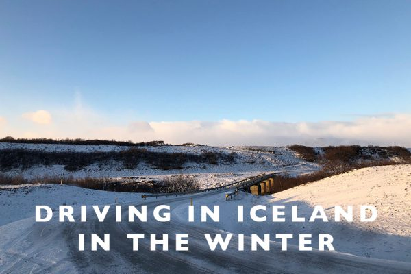 Driving in Iceland in the Winter