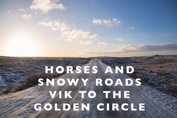 Horses and Snowy Roads : Vik to the Golden Circle