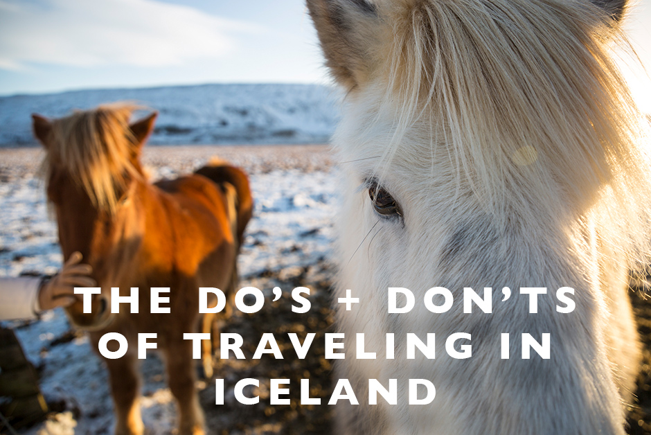 do's and don'ts of traveling in Iceland
