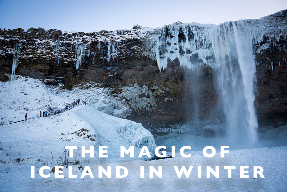 the magic of Iceland in winter