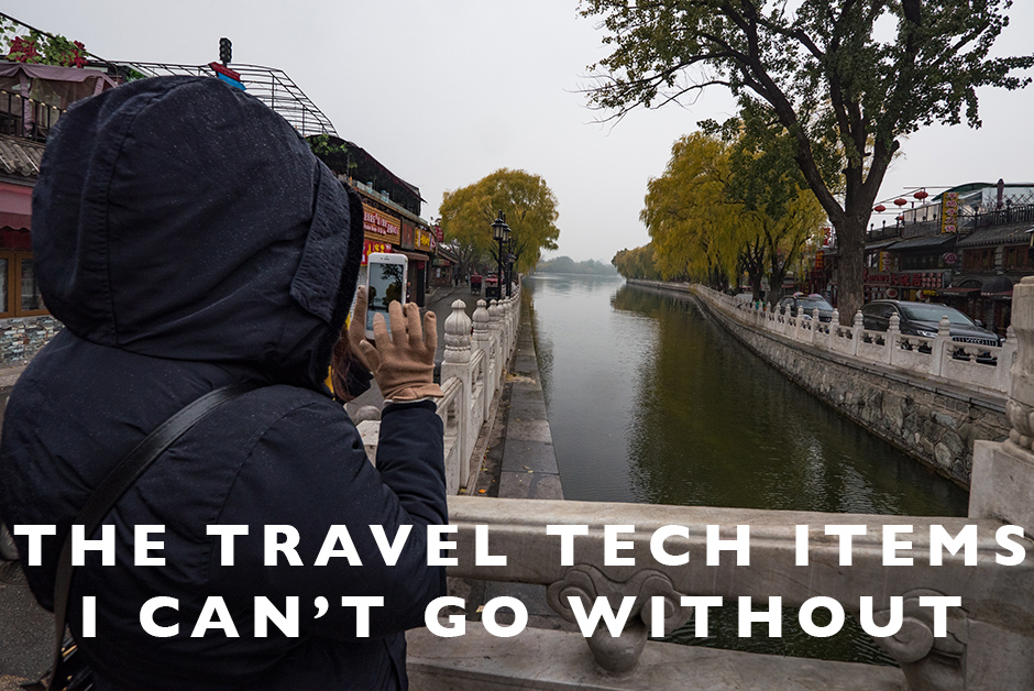 travel tech items I can't go without