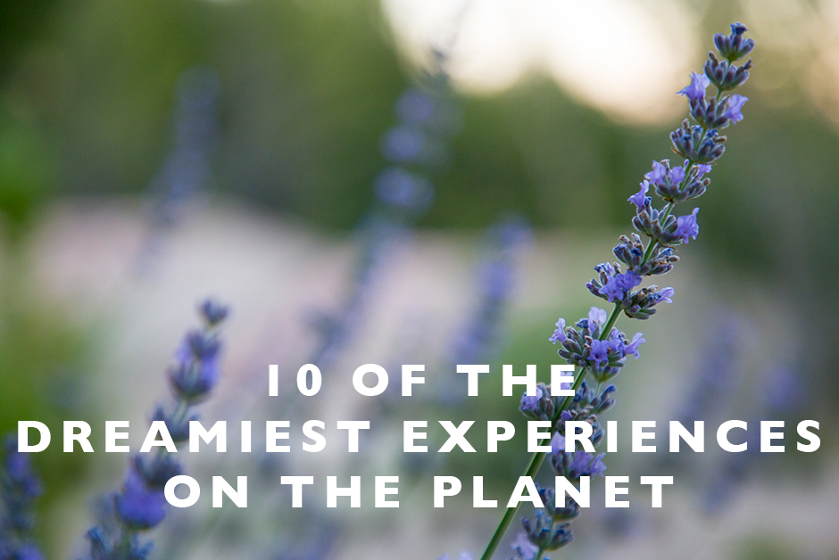 dreamiest experiences on the planet