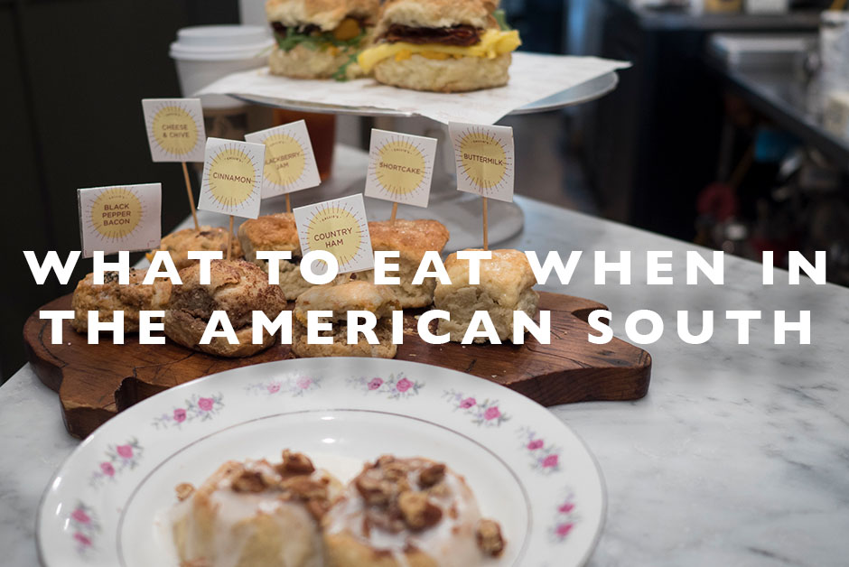 what to eat in the American South
