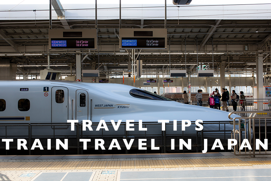 travel tips for train travel in Japan