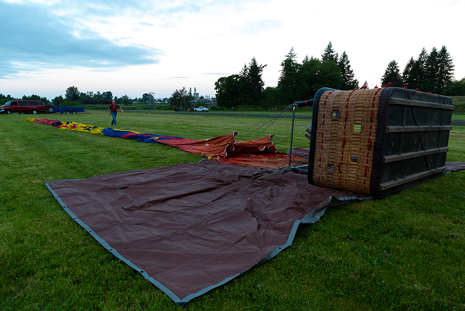 hot air ballon ride in Newberg Oregon