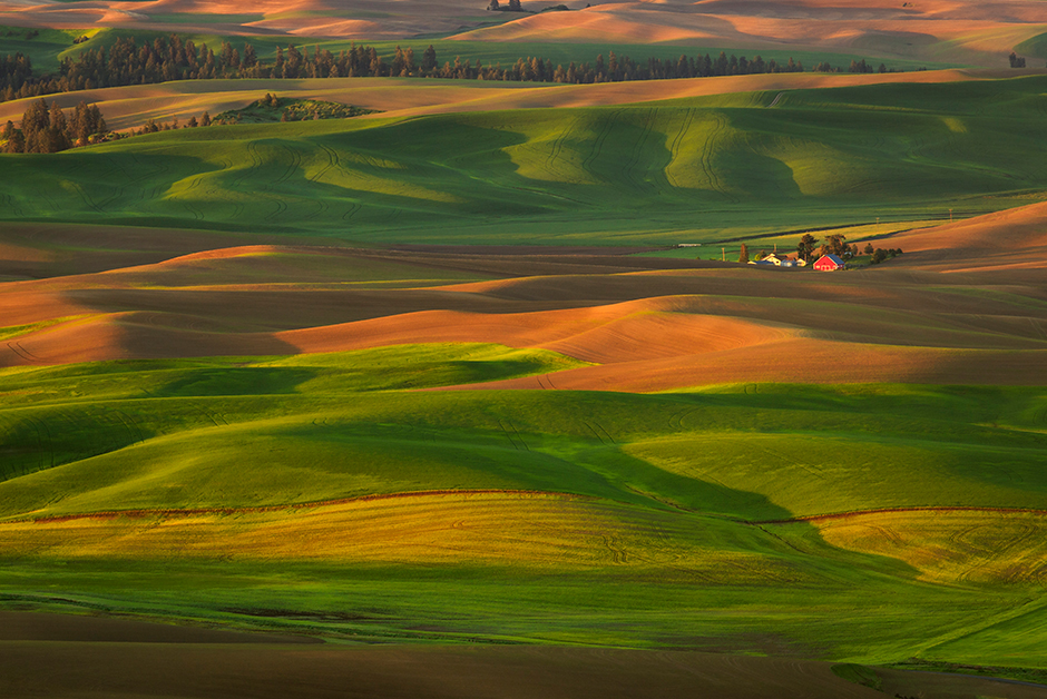 my favorite places in the USA The Palouse Washington