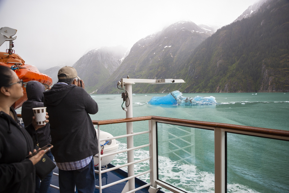 morning at Dawe's Glacier Alaska cruise