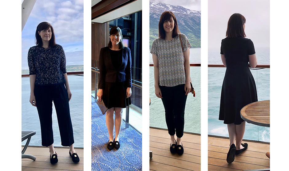 dinner on Alaska cruise outfits