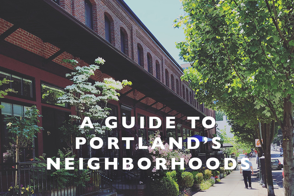 guide to Portland's neighborhoods