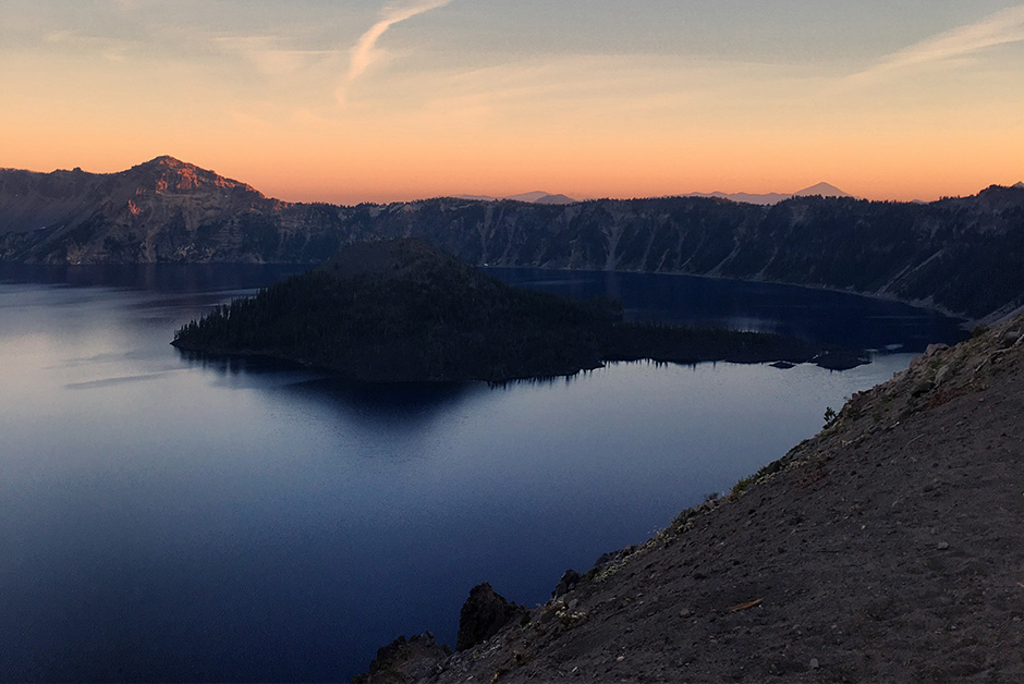 Crater Lake Southern Oregon