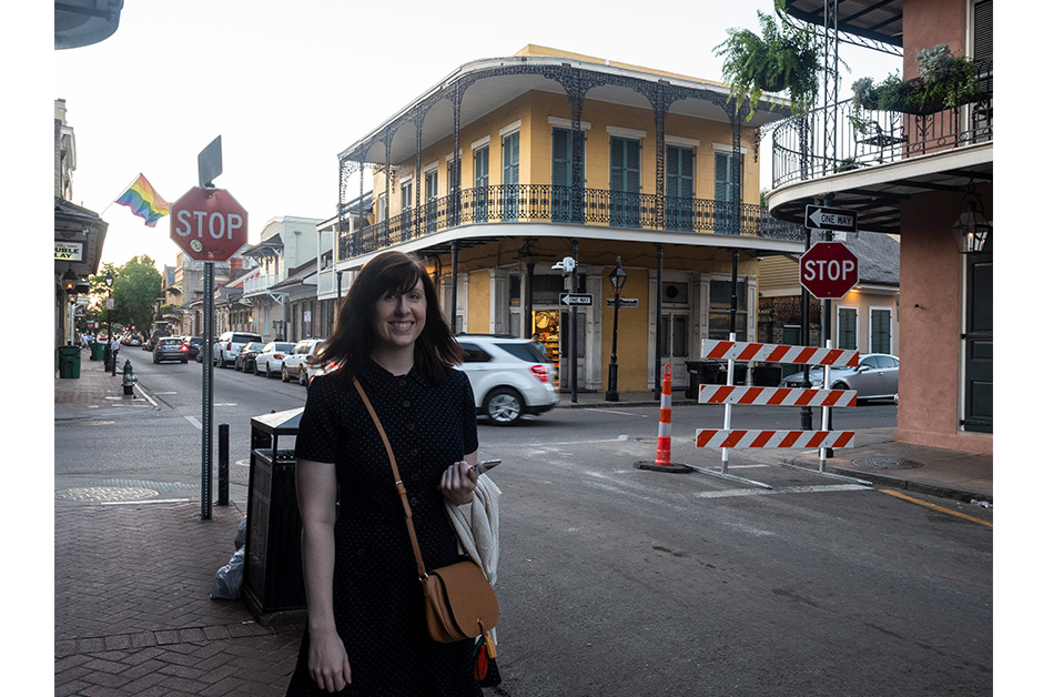 exploring New Orleans French quarter travel style