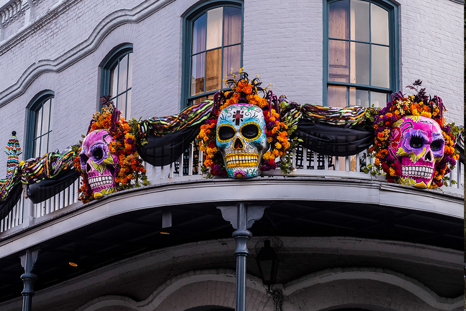 best places to travel for halloween New Orleans