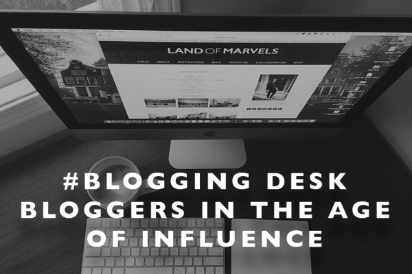 #BloggingDesk : Bloggers in the Age of Influence