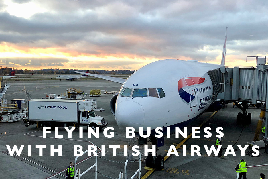 Flying Business with British Airways
