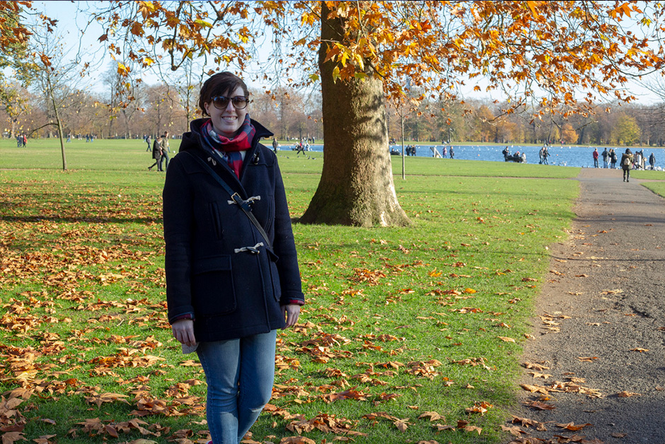 Autumn in London Hyde Park Travel outfit