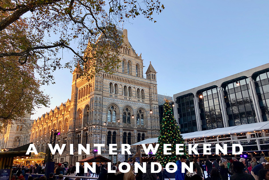 winter weekend in London