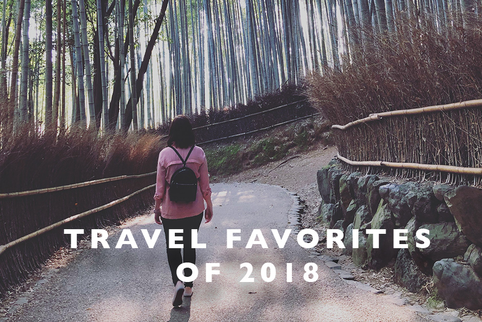 Travel favorites of 2018