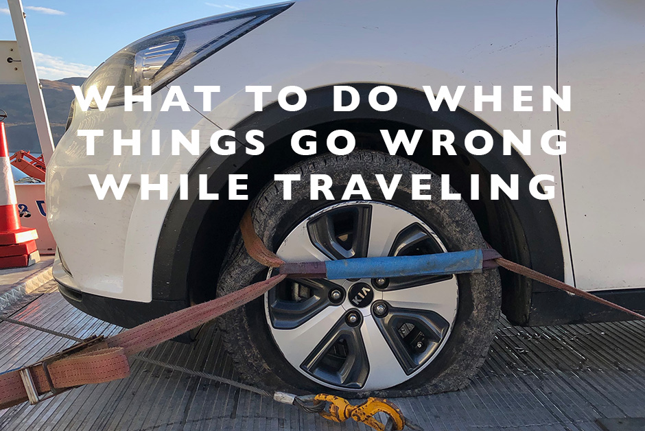 When things go wrong while traveling