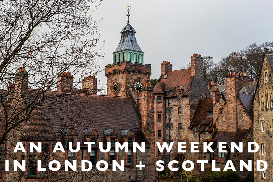 autumn weekend in London