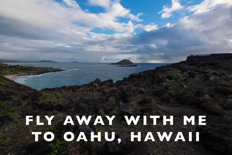 fly away with me to Oahu video