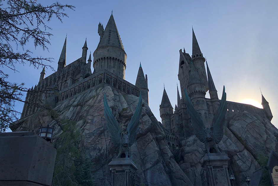 Wizarding World of Harry Potter in Los Angeles Hogwarts