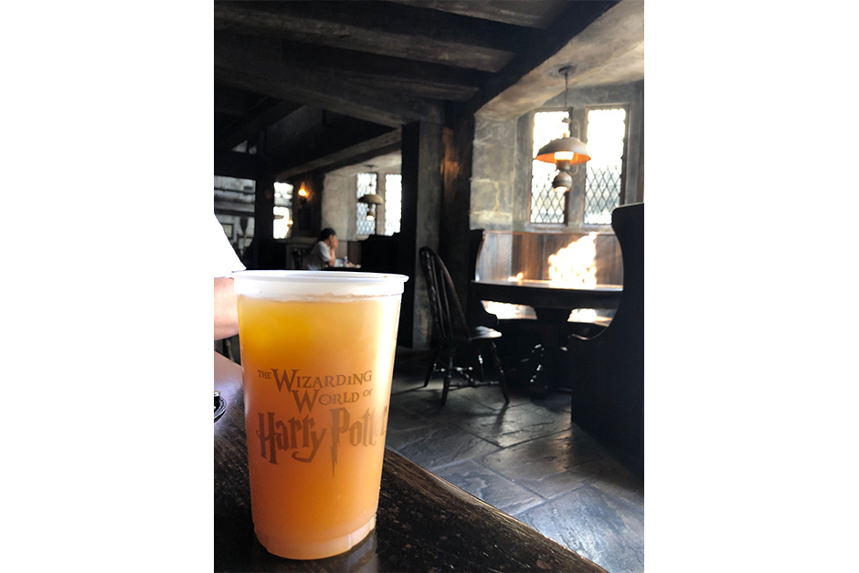 Wizarding World of Harry Potter in Los Angeles butterbeer