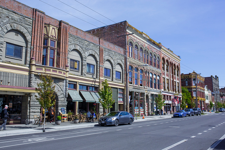 small towns in the Pacific Northwest Port Townsend Washington