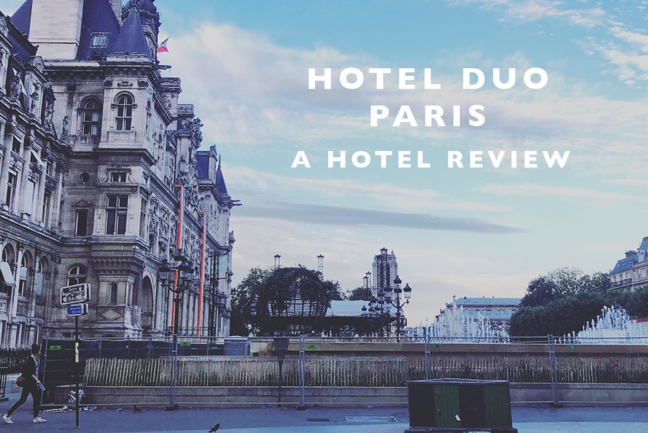 Hotel Duo Paris review