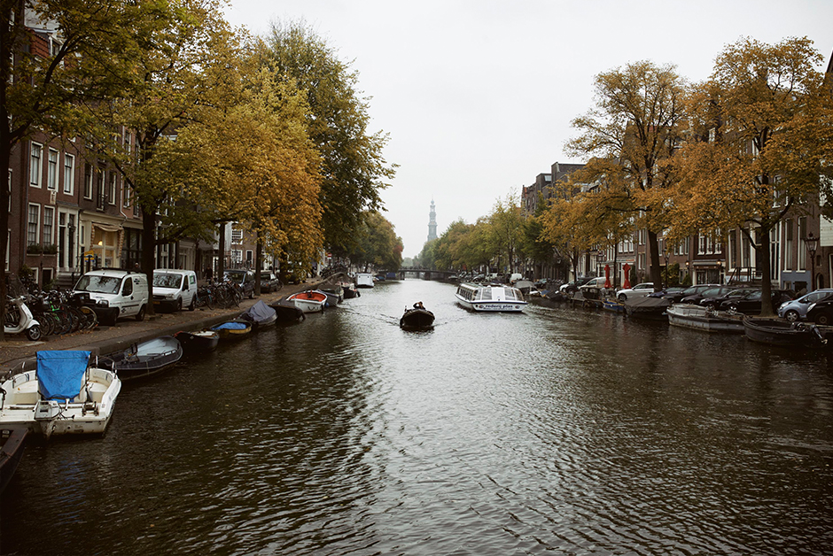 Fall travel list autumn Amsterdam