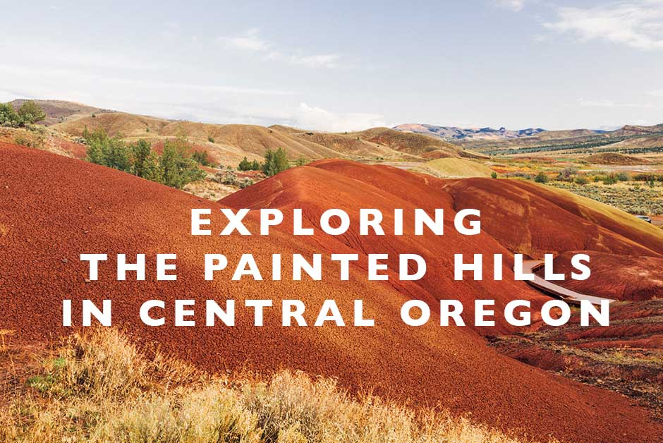 exploring the painted hills Central Oregon
