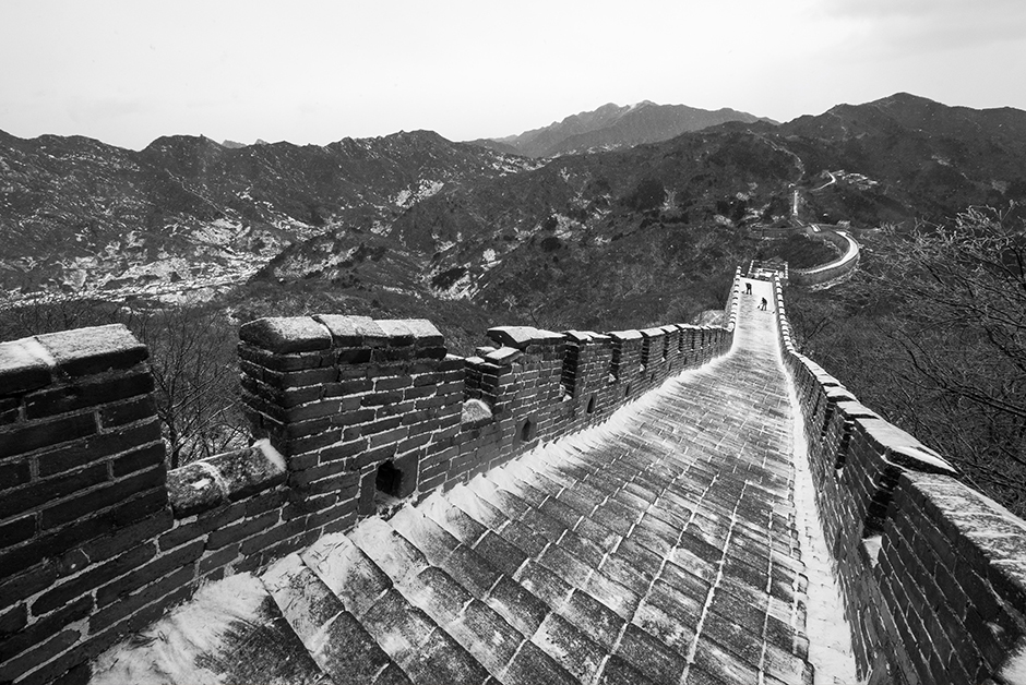 best winter travel destinations Great Wall of china