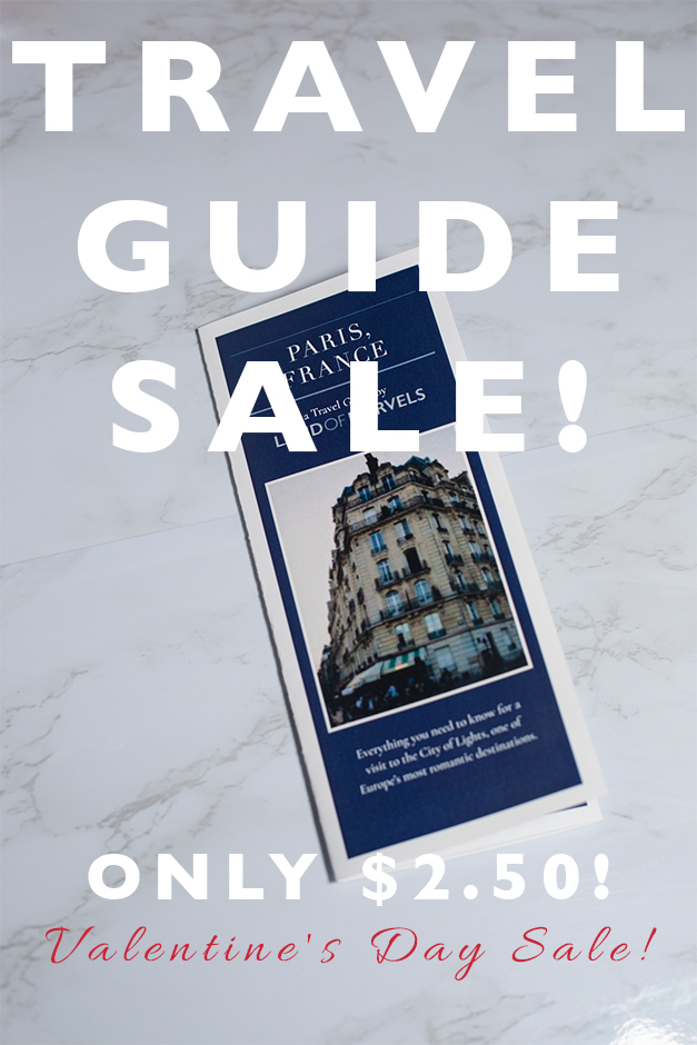 travel guide sale only $2.50