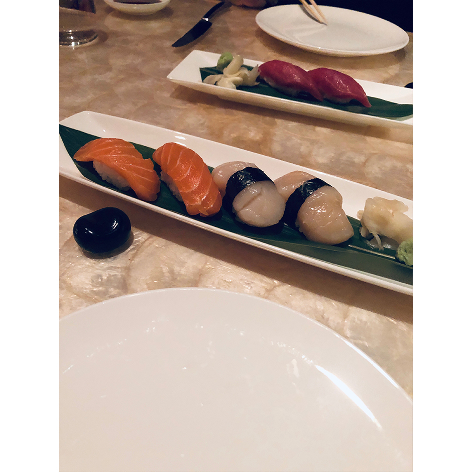 Sushi at Mizumi Wynn Las Vegas review