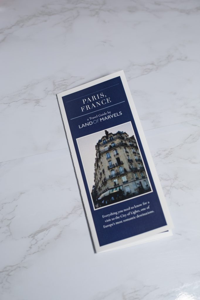 travel guide for Paris