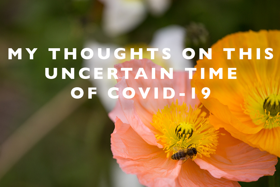 thoughts on COVID-19