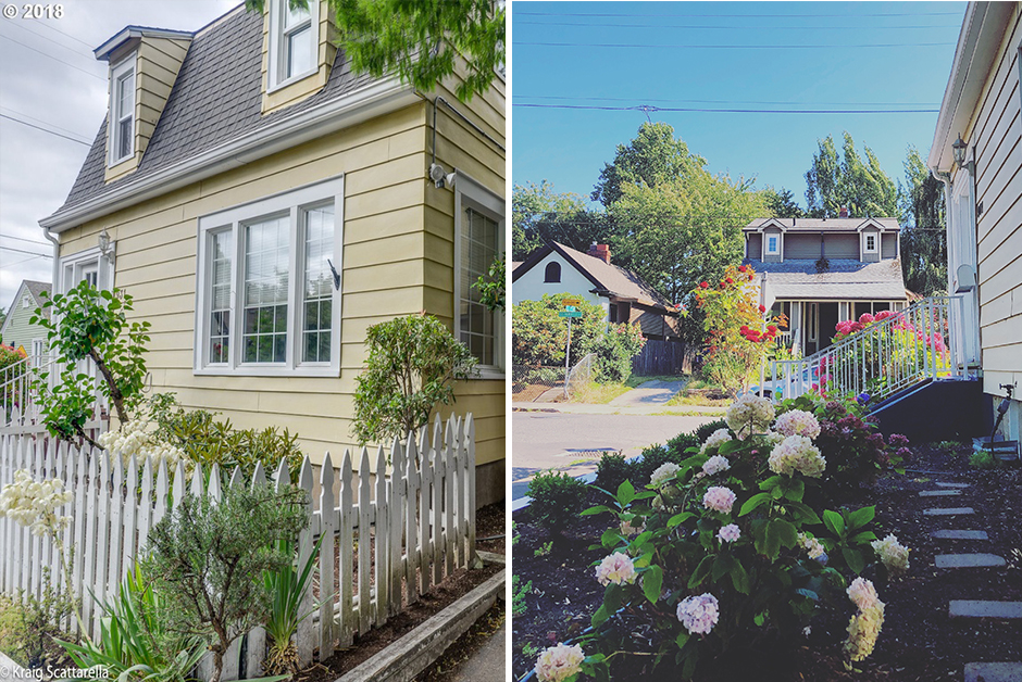 before and after front yard